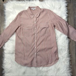 Express red and white Soft Striped City shirt